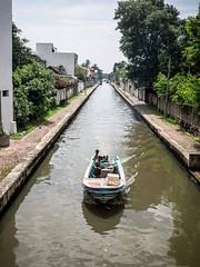 Boat on the Canal (Wookkie) Tags: ifttt 500px asia boat negombo sri lanka transportation