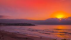 Bondi Beach Sunrise (Tonitherese) Tags: sunrise bondi ocean beach sydney australia