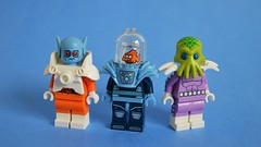 Mr. Fish and Associates (th_squirrel) Tags: lego minifig minifigs minifigures minifigure space armor alien fish batman movie cmf freeze