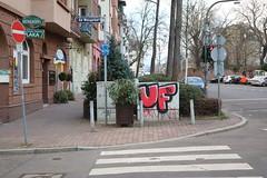 Ultras Frankfurt (Jürgo) Tags: streetart streetartgermany streetartffm streetartfrankfurt frankfurt frankfurtammain frankfurtstreetart bockenheim streetartbockenheim frankfurtbockenheim uf97 ultras ultrasfrankfurt