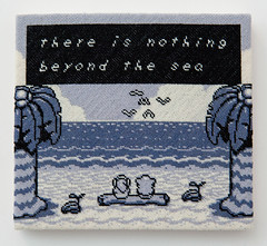 The Legend of Zelda: Link's Awakening (version 7) (2014) (perfhager) Tags: perfhager steneprojects contemporaryart gaming craft needlepoint embroidery handmade 刺繍 ゲーム 美術 現代美術 クラフト ハンドメイド アート