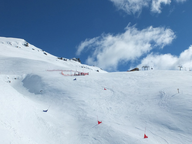 BASE Triple Comp Banked Slalom course (14.9.2013)