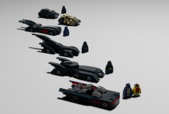 To the Batmobile! (SPARKART!) Tags: car toy lego batman batmobile darkknight futura burton keaton furst tumbler miniscale sparkart
