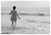 Running away (TerezaN Photography) Tags: seaside runningaway llantwitmajor heartpatterneddress