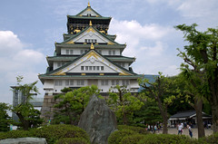 Versieringen kasteel Osaka