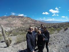 Photo de 14h - Avec Mathilde, Mickael et Shany sur la route pour Cachi (Argentine) - 20.08.2014