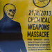#ClearTheSky in Berlin - Chemical Weapons Massacre