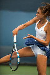 US Open Women's Tennis (thewentworths1) Tags: ladies girls people sport us women open tennis usopen sportswear 2015 athelete