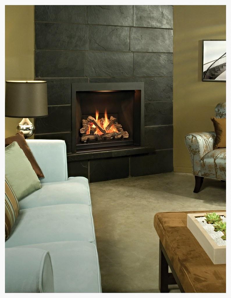 Valor Ventana Fireplace
