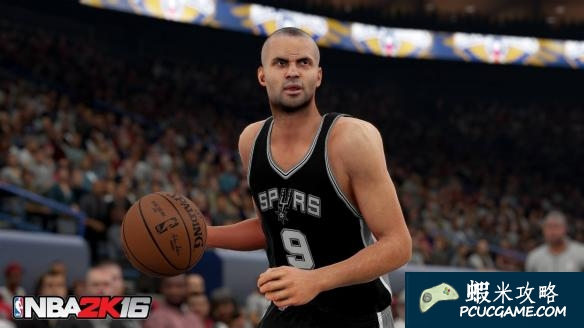 NBA 2K16 背身硬擠 扣籃進球方法