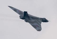 vulc1 (rich01535) Tags: plane flying nikon aircraft jet vulcan bomber d610 xh558