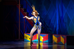Sabrina Harper as Fastrada in the national tour of PIPPIN presented by Broadway Sacramento at the Sacramento Community Center Theater Dec. 29, 2015 – Jan. 3, 2016.  Photo by Terry Shapiro.