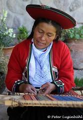 Quechua Weaver (lugi_ch) Tags: travel people peru inca cuzco cusco sacredvalley urubamba nationalgeographic quechua solyluna lindbladexpeditions urubambavalley wayraranch