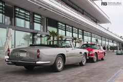 Aston Martin DB4 Convertible & Aston Martin DB6 (Raphaël Belly Photography) Tags: red brown david paris france cars car canon de french rouge photography eos grey gris hotel photo am automobile shoot riviera grigio photographie photoshoot martin south convertible voiture db casino montecarlo monaco 98 mc belly 7d passion shooting db4 carlo monte raphael rosso luxury rb supercar aston spotting supercars raphaël db6 séance rossa principality grise principauté 98000