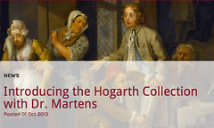 Introducing the Hogarth Collection with Dr. Martens William Hogarth was an English painter, printmaker and social critic. His work draws on Londons unique communities and activities, and provides a commentary for the citys diverse culture at the time of (medievalpoc) Tags: england art history fashion awesome progress william 1700s the hogarth rakes medievalpoc