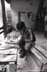Children working (maxy185) Tags: travel people peru work children perù tradition job ayacucho sculpting huanta peruanos floklore huamanga souvenris
