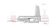 Проект бизнес-центра в Пусане от Parsa Khalili и ATELIERPAP