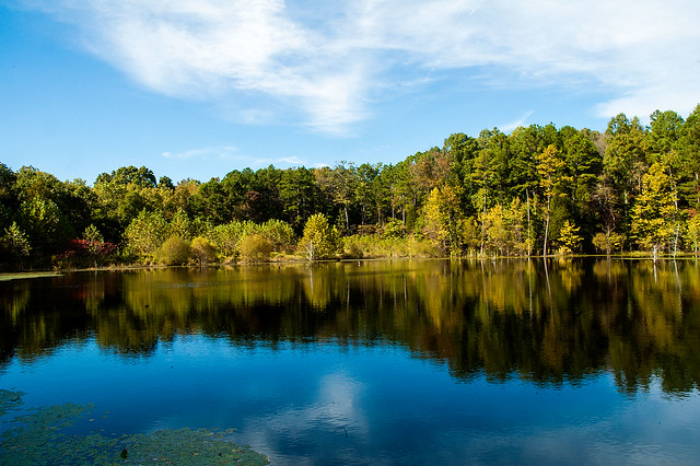 Hoosier National Forest - Sundance Lake - October 4, 2015