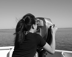 Lookout (SailToBequia) Tags: bw filter longislandsound 2015 13yo