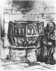 Anglų lietuvių žodynas. Žodis stoup reiškia n  bažn. šventinto vandens indas (prie įėjimo į bažnyčią) 2 ist. (gėrimo) indas lietuviškai.