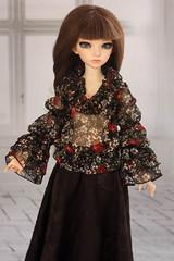 Блузочки для Минифишечки (by Hand Dreams) Tags: clothing hand sewing clothes made bjd abjd msd minifee