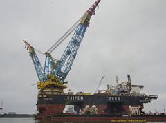 Saipem 7000 (Bert de Boer) Tags: de boer offshore nederland bert 7000 eemshaven saipem