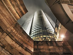 _B140020b (Concert Photography and more) Tags: city storm building rain japan lights tokyo roppongi mori typhoon eyeofthestorm skycraper 2015 upthenose moribldg