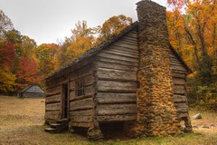 log cabin in Tennessee (Mysophie08) Tags: infocus highquality