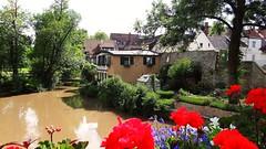 Waiblingen (almresi1) Tags: flowers house wall river garden town blumen stadt garten huser stadtmauer geranien waiblingen rems flus remstal remsmurrkreis