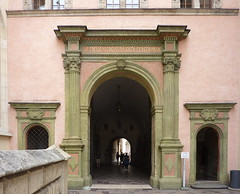 Krakov, Wawel (57) (ladabar) Tags: doorway portal kraków cracow cracovia krakau krakov dveře portál