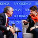 Thomas Friedman and Nina Khrushcheva share thoughts at Brookings book launch: