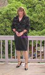 Suit 53d (Melissa451) Tags: highheels suit isabella satin
