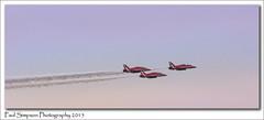 Red Arrows (Paul Simpson Photography) Tags: uk red airplane flying flight jet fast aeroplane lincolnshire redarrows jetplane displayteam photosof imageof photoof rafscampton imagesof sircraft sonya77 paulsimpsonphotography december2015