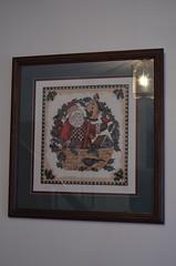 Christmas Decorations (ssfaulkn) Tags: santa christmas family decorations art crossstitch crafts needlepoint santaclaus