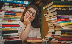 Ensaio na Biblioteca da PUCRS (eusoufamecos) Tags: livro book biblioteca irmão josé otão pucrs famecos