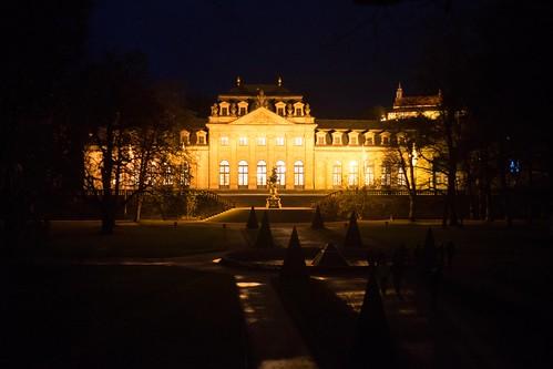 Fulda Orangerie at Night