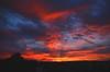 Sunset (Hëamon) Tags: sunset cola21 nikon nikondigitalmagic nikonmagic d7000 thesun red blue violet glow eveningglow picturelicious