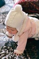 Baby Alma (Tuqaki) Tags: baby babygirl myalma alma pure innocent white happy beauty nikon home 50mm hope life love babypink