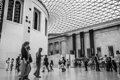 British Museum (Florencia Conzolino) Tags: britishmuseum london londres uk britain city social society people blackandwhite blancoynegro bnw bnwcaptures bw
