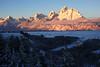 Snake River Overlooks at Dawn (DigitalSmith) Tags: tetons grandtetonnationalpark mountains wyoming