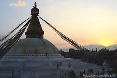 Boudanath (The place where I belong) Tags: nepal kathmandu nikon travel photography asia boudanath sunset