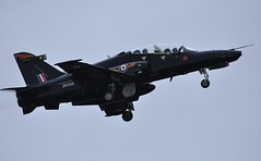 ZK032 (goweravig) Tags: zk032 bae hawk raf 4rsquadron 4squadron swansea wales uk swanseaairport flyby lowpass codedw