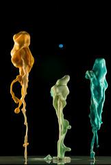 three- trio (Angelo M51 (Angelo Metauri)) Tags: angelom51 angelometauri stilllife speed speedphotography waterdrops water watersculpture drops artdrop liquidart