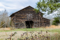 Barn - Anderson Co, S.C. (DT's Photo Site - Anderson S.C.) Tags: andersonsc canon 6d 24105mml rural country road barn vintage vanishing south farm southern culture