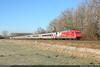 DB 101 076 'cewe' in Hannover #5842 (146 106) Tags: db bahn lok lokomotive locomotive br101 101076 ic hannover tiergarten hkwa canon 5d mark iii ef24105mmf4lisusm