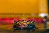 Splash colors (Cathy_abd) Tags: eau figé fuite goutte deau h2o impact liquide pluie éclaboussure abstrait bleu decor onde vibration splash cathyabd