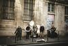 Paris 2016 (Caroline Lessire) Tags: paris street photography documentary black white bw walls streets marais portrait people faces france canon einstein sigma places exploring keepexploring
