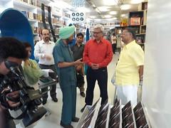 Book MumBhai Returns released by then CBI Director Joginder Singh in Delhi April 2016_201620160429_171332