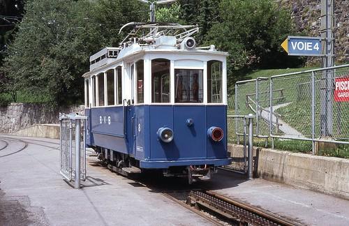 Trams Villars Gryon (Suisse)