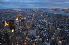 New York : vue depuis l'Empire State Building